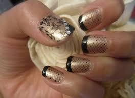 golden fancy nail art design for trendy mods com