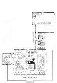 Floor Plans With Wrap Around Porch by Farmhouse Style House Plan 4 Beds 2 50 Baths 3072 Sq Ft Plan 530 3