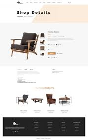 Decor Online Stores H Decor U2013 Creative Psd Template For Furniture Business Online By
