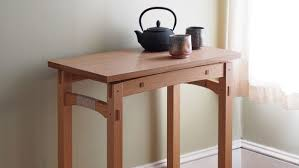 Table Top Desk Floating Top Table Finewoodworking
