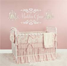 Nursery Name Wall Decals by Wall Decal For Baby Girl Color The Walls Of Your House