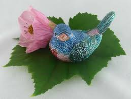 Beaded Home Decor 36 Best Beaded Birds Images On Pinterest Beads Beaded Animals