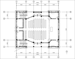 Church Floor Plans Free Cathedrals And Church 3 U2013 Cad Design Free Cad Blocks Drawings