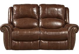 abruzzo brown leather reclining loveseat leather loveseats brown