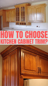 how to trim cabinets which kitchen cabinet trim ideas do you choose