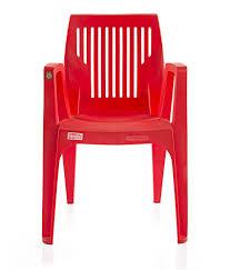 Plastic Furniture Shopping Online India Varmora Designer Chair Zeus Vertical Red Buy Varmora Designer