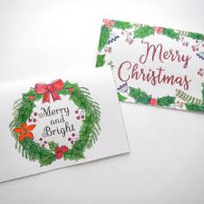 unique christmas cards 6 unique christmas cards to color free printable