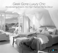 monochrome home decor geek gone luxury chic u2013 incorporating insects into high fashion