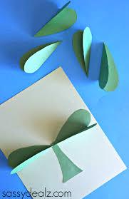 crafty morning 3d paper shamrock craft for st patrick u0027s day notey