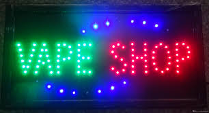 shop open sign lights wholesale 2016 direct selling led vape shop sign custom neon signs