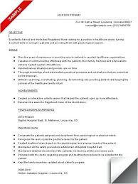 resumes objectives exles nursing resume objective exles megakravmaga