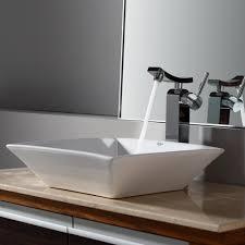 Bathroom Trough Sink Bathroom Square Vessel Sink Lowes Bathroom Vanity With Sink