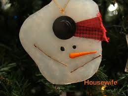 tutorial melted snowman ornament eclectic
