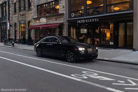 roll royce ghost rolls royce ghost black badge best features for passengers