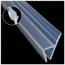 Shower Door Weather Stripping Glass Shower Door Seal No Adhesive Include 120inch