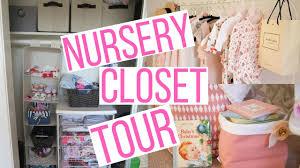 nursery closet storage u0026 organization tour hayley paige youtube