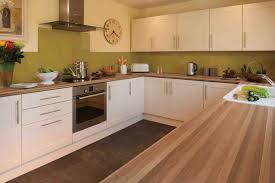 kitchen worktop ideas kitchen design walnut worktop shaker gloss ideas
