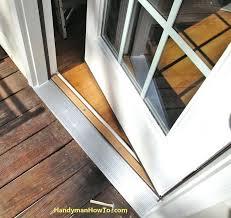 Exterior Door Threshold Installation Exterior Door Bottom Seal Replacement Diy Ornaments