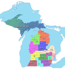 Hillsdale Michigan Map by Regions Liasons Updates Michigan Art Education Association