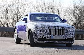 rolls royce wraith blue 2017 rolls royce wraith facelift starts testing autoevolution