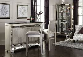 farrah silver bar set from pulaski coleman furniture