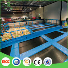 china xiaofeixia factory price children rectangle trampoline