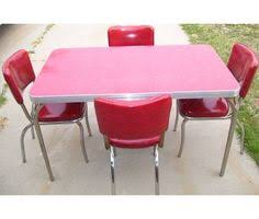 1950s vintage table and chairs 1950 u2032s chrome and formica kitchen