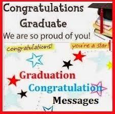 congratulation messages graduation
