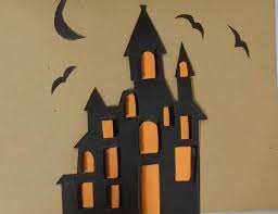 how to draw halloween how to draw a haunted house art for kids