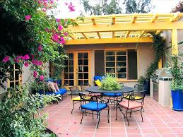 patio ideas backyard paver patio connected to a concrete slab