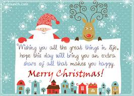 wishing you all the great things in merry