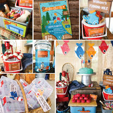 party favors for boys fishing party decorations boys fishing birthday party decor