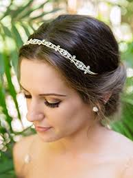gold headbands bridal and wedding headband gold headpiece