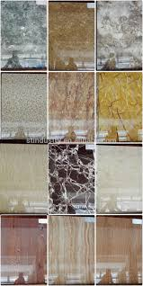 Wall Covering Panels by E0 High Gross Calcium Silicate Board Composite Uv Covering