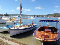 Gosford Central Coast Australia Davistown Putt Putt Regatta And Wooden Boat Festival Central