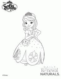 princess sofia coloring coloring
