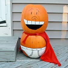 painted captain underpants pumpkin u2013 the pinterested parent