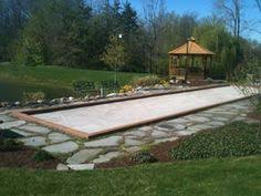 Simple Backyard Design Ideas Backyard Games Plans For Horsehoes Bocce Volleyball Croquet