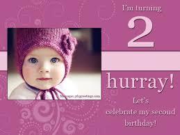 2nd birthday invitations lilbibby com