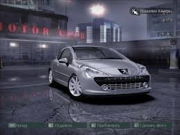 peugeot purple need for speed carbon peugeot 207rc nfscars