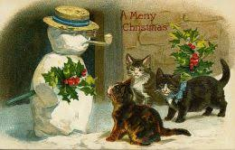 free vintage animal christmas cards hubpages