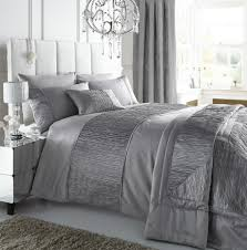 home design bedding silver duvet cover set home duvet