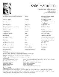 Sample Resume For Musician by Resume Re Resume Cv Cover Letter
