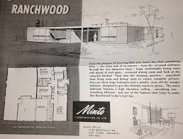 minto homes floor plans mid century modern and 1970s era ottawa the minto ranchwood plan