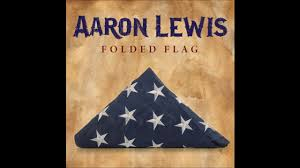 Flag Folded Into Triangle Aaron Lewis Honors The Military Men With U201cfolded Flag U201d