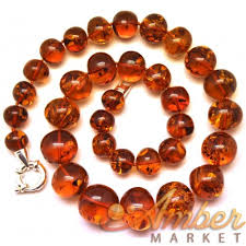 amber beads necklace images Baltic amber long baroque beads necklace JPG