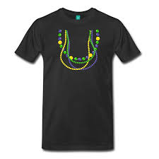 mardi gras beaded necklaces 2017 fashion mardi gras beaded necklaces men s premium t shirt 100