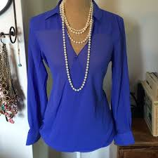 periwinkle blouse periwinkle chiffon blouse m from chelsey s closet on poshmark
