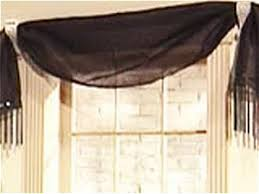 Windows Treatments Valance Decorating No Sew Window Treatments Diy