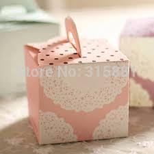 boite a gateau mariage blanc dentelle boîte de gâteau boîte de gâteau de